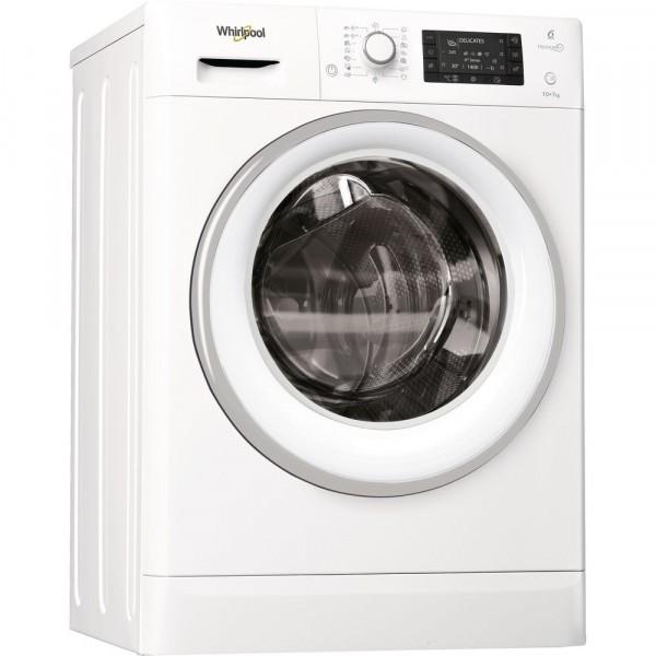 Veļas Mazgājamā Mašīna Ar Žāvētāju Whirlpool FWDD1071681WS